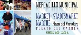 Mercadillo municipal Puerto del Carmen